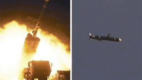"""Triều Tiên thử vũ khí mới, """"dằn mặt"""" Mỹ trước hội nghị về hạt nhân"""
