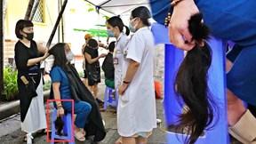 Cắt mái tóc nuôi 5 năm, nữ bác sỹ sẵn sàng lên đường chi viện miền Nam