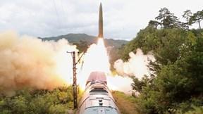 Triều Tiên phóng tên lửa từ tàu tỏa, Hàn Quốc lập tức hành động cảnh cáo
