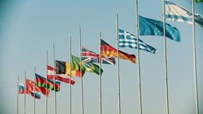 Vì sao màu tím hiếm khi xuất hiện trên quốc kỳ các nước?
