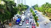 Ùn tắc tại Hà Nội ngày đầu nới lỏng giãn cách