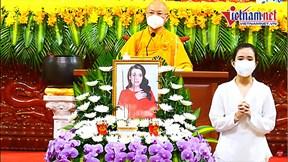 Phương Thanh, Thanh Lam, Thái Châu nghẹn ngào cầu siêu cho Phi Nhung