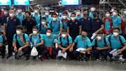 Thầy trò HLV Park ra sân bay sang UAE lúc nửa đêm, chuẩn bị chạm trán TQ