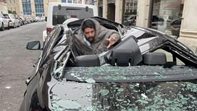 """Rơi từ tầng 9 """"đập nát"""" xe BMW, người đàn ông sống sót thần kỳ"""