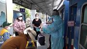 4 chuyến tàu miễn phí đưa gần 2.800 người dân Quảng Bình về quê