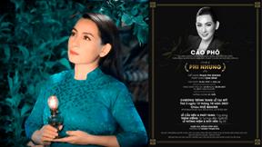 Tang lễ Phi Nhung không nhận vòng hoa, tiền phúng điếu làm từ thiện