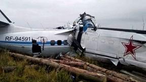 Rơi máy bay tại Nga, 16 người thiệt mạng