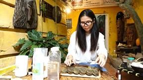 Mẹ Hà Nội chỉ công thức biến dầu thừa thành hàng quý, trăm người học theo