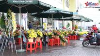 TP.HCM dịp 20/10: Hoa vắng khách, đổ xô tặng rau răm, hành lá, tía tô