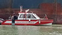 Chìm sà lan trên sông Gò Gia, 1 người mất tích