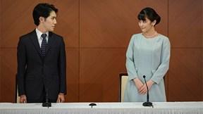Công chúa Nhật Bản và chồng lần đầu chia sẻ chuyện tình yêu sóng gió